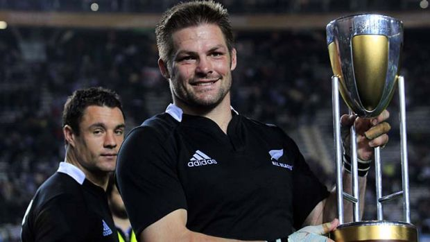 All Blacks captain Richie McCaw.