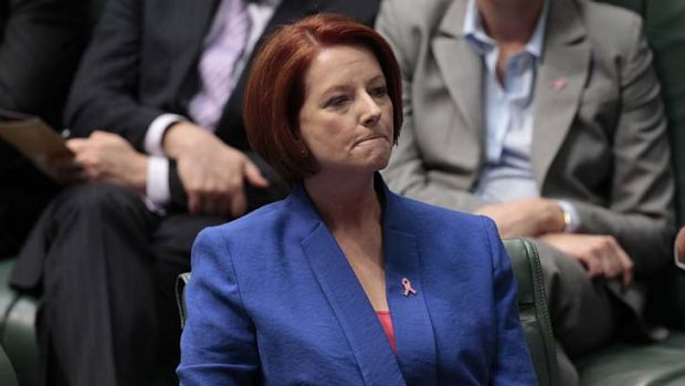 Julia Gillard ... lost a great deal.