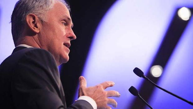 Former Liberal leader Malcolm Turnbull.