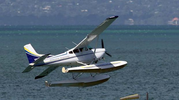 Up in the air ... could a seaplane business be viable?