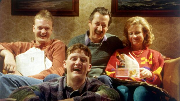 The Kerrigans in cult Australian film <i>The Castle</i>.