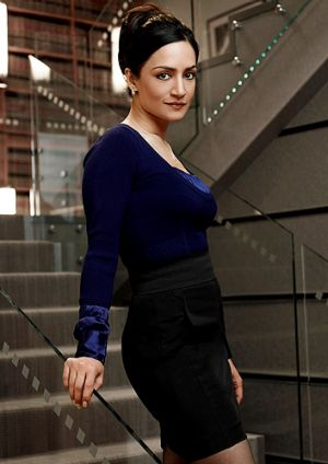 The increasingly shady and shadowy private life of Kalinda Sharma (Archie Panjabi) is further exposed.