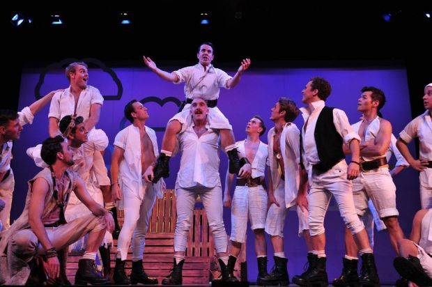 The cast of the Pirates of Penzance.
