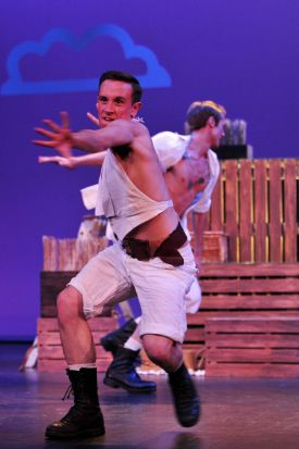A scene from Pirates of Penzance.