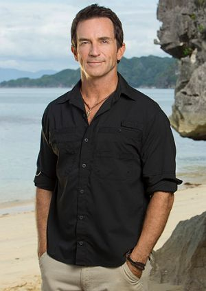 Jeff Probst and his pecs are back on board for another round of <i>Survivor</i>.