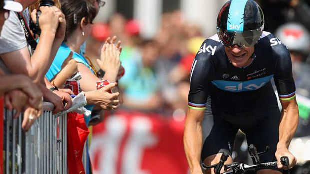 """Regret"" ... Michael Rogers in this year's Tour."