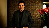 "Actor Benicio Del Toro, who stars in the new Oliver Stone movie, ""Savages"". Photographed at the Park Hyatt on October ..."