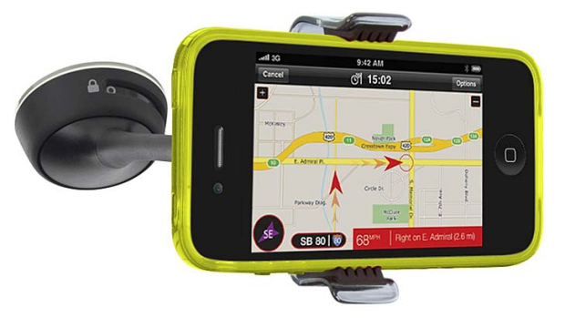 Belkin's Window Mount for iPhone and iPod, $39.95.