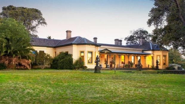 """Rosecraddock"" in Caulfield North sold for $11 million last week."
