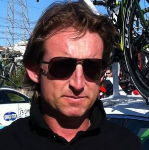 The GreenEDGE team's Matt White.