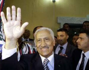 The new Prime Minister, Abdullah Ensour.