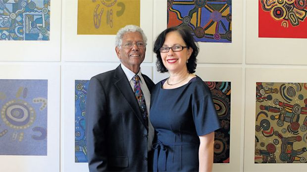 Painting a rich picture: Ros and John Moriarty, founders of the Jumbana Group, which was established in 1983 using ...