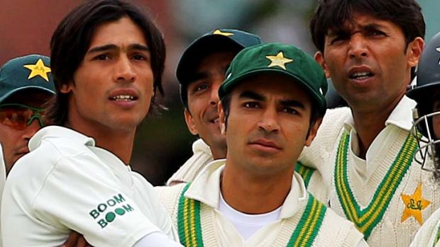 Convicted … Salman Butt and Mohammad Asif.