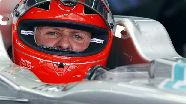 Wanted man … Michael Schumacher has announced his retirement from F1.