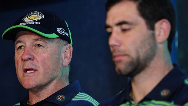 """""""At the moment, Sheensy's a perfect fit, if he doesn't have a club job to do"""" ... NSW captain Paul Gallen on Australia ..."""