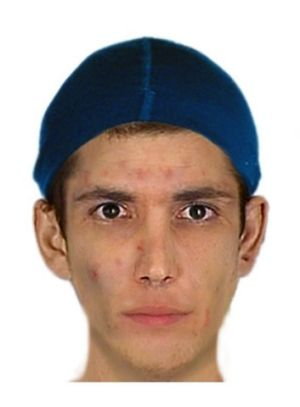 An image of the man police are seeking.