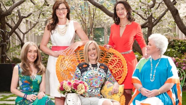 Prominent ACT female politicians Amanda Bresnan, Kate Lundy, Katy Gallagher, Gai Brodtmann and Vicki Dunne.