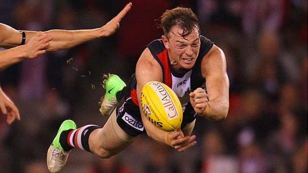 St Kilda supporters may not have to wait long to vent their displeasure at Brendon Goddard.