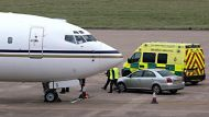 Malala arrives in the UK for care (Video Thumbnail)