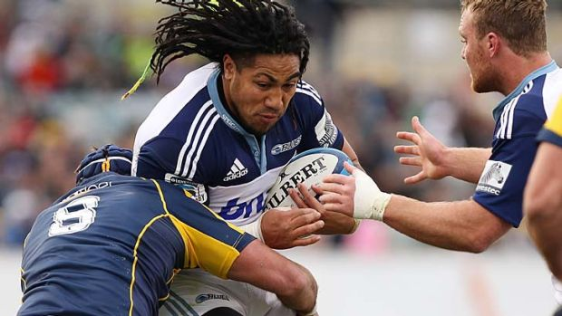 Ma'a Nonu is leaving the Blues for the Highlanders.