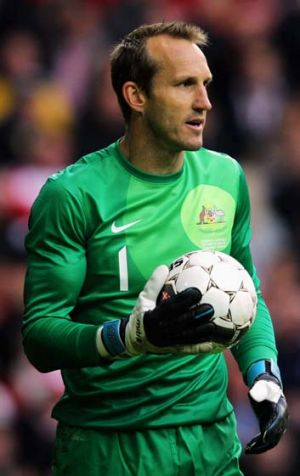 World Cup goal: Mark Schwarzer.