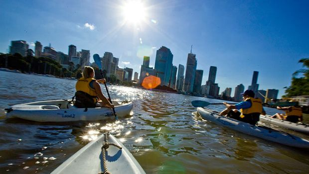 Does Brisbane make the most of its river?