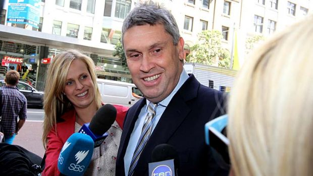 A relieved-looking Nine CEO David Gyngell emerged from a meeting of creditors in Sydney to announce that 'there is a ...