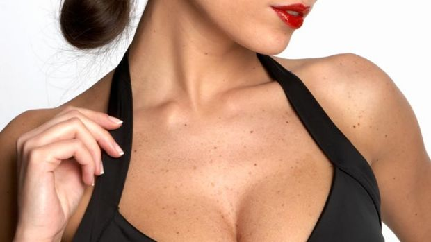 Suddenly it's October, the weather's warming up and the precious decolletage will be revealed...