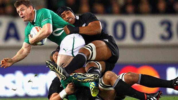 Waratahs bound? Ireland captain Brian O'Driscoll.