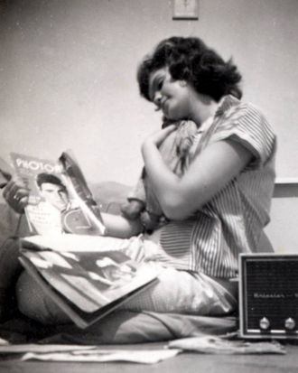 Helene Martin still has the doll and a Ricky Nelson album with the same photo on the cover as the magazine in 1960.