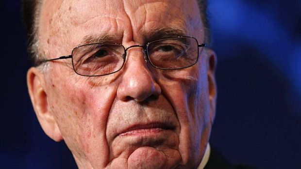 """Typical ABC in Oz alleged I called hacking victims scumbags"" ... Rupert Murdoch tweeted yesterday."