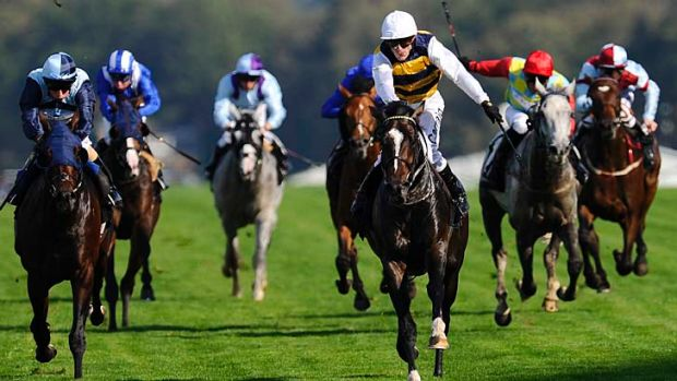 A quest for Caulfield Cup glory? Kieren Fallon on My Quest For Peace winning at Ascot last year.