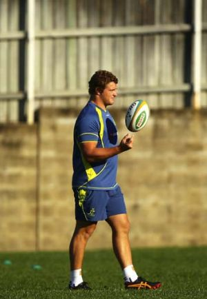 The time has come ... James Slipper is set to turn out for the Wallabies against the All Blacks for the final Bledisloe ...