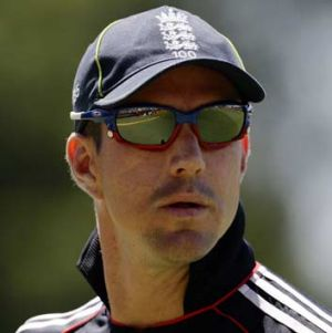 Welcome back: Kevin Pietersen.