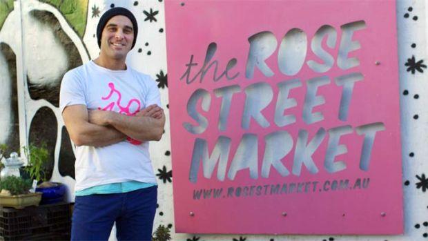 Rose St. Artists' Market founder Adam Ferrante.