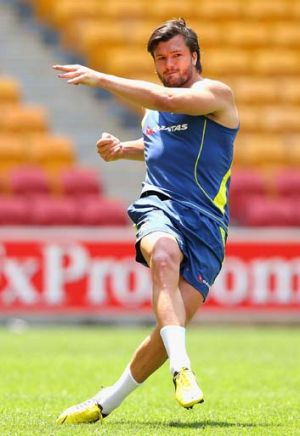 Adam Ashley-Cooper ... the only survivor in the Wallabies back line from their 22-0 loss to the All Blacks at Eden Park.