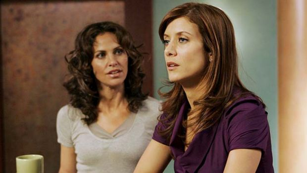 Coming to an end ... Amy Brenneman and Kate Walsh in medical drama <i>Private Practice</i>.