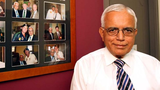 """""""The Australian team has to come first"""" ... Dr Harry Harinath."""