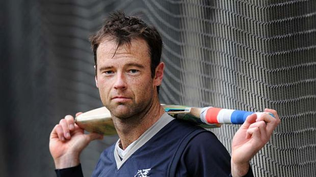 Rob Quiney in the nets at the MCG.