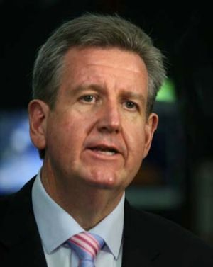 Pressure on state government finances are forcing Barry O'Farrell to raise the possibility of lifting the base of the GST.