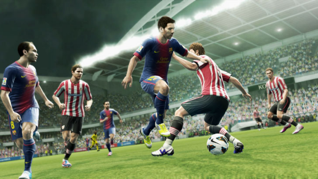 Pro Evolution Soccer 2013 sees Konami's simulation back as a genuine contender against FIFA.