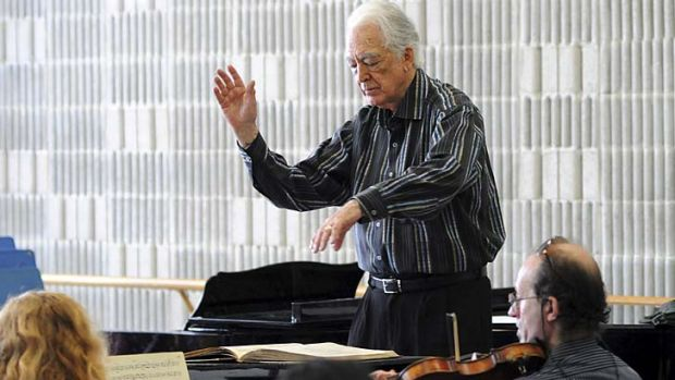 Supremacy of the vocal line … Richard Bonynge has refreshed operatic taste worldwide.