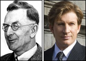 David Wenham (right) will play journalist CEW Bean.