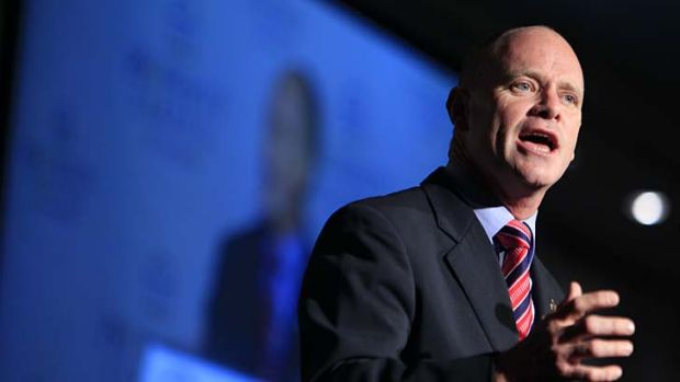 Campbell Newman ... the Queensland government's lifting of a 30-year mining ban has coincided with the Australian ...