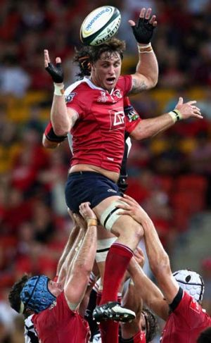 On the move ... Hugh McMeniman has signed with the Western Force after an injury-plagued season with the Queensland Reds.
