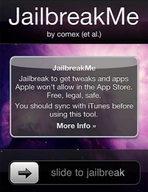 Making iPhone jailbreaking child's play...