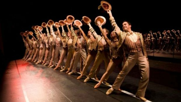 A Chorus Line opens tonight in Perth.