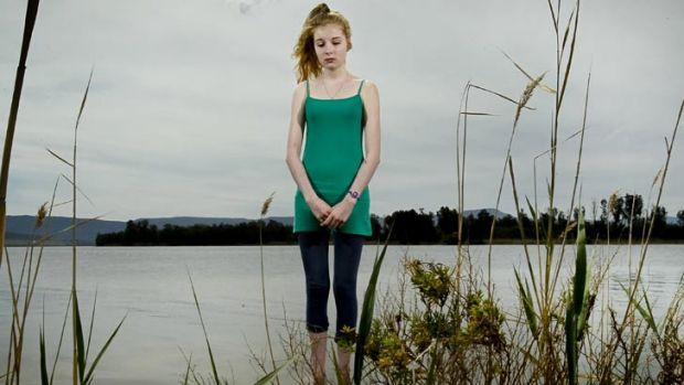 Anorexia battle ... Chloe Swinfield.