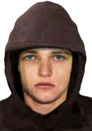 An image of the man police seek.