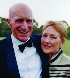 Neville Kennard and wife Gaby. They were married in 1983 and shared an interest in flying.